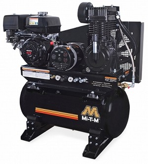 Mi-T-M 30-Gallon Two Stage Combination Air Compressor/Generator