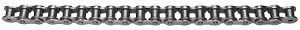 Hi-Light Single Strand Riveted ANSI Precision Roller Chain