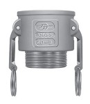 PT Coupling Aluminum Male Coupler