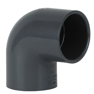 PVC Sch. 80 Elbow - 90° Thread by Thread