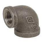 Galvanized Steel Reducing Elbow - 90°