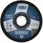 Diamond Tyrolit Premium Super-Thin Cut-Off Wheels - Steel & Stainless Steel