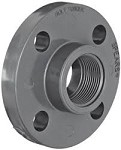 PVC Sch. 80 Flange - Threaded
