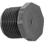 PVC Sch. 80 Plug - Threaded