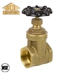 Smith Cooper Brass Gate Valve