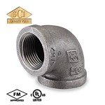 Galvanized Steel Elbow - 90°