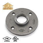Galvanized Steel Floor Flange