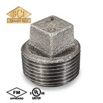 Galvanized Steel Plug